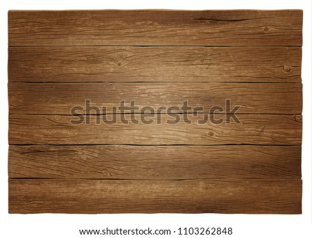 Realistic vector wooden background. Highly detailed, photorealistic. Hand drawn without trace.