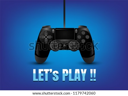 realistic video game controller