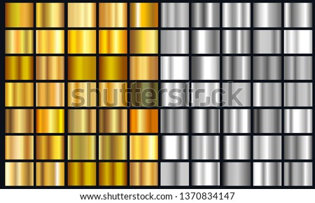 realistic yellow and silver