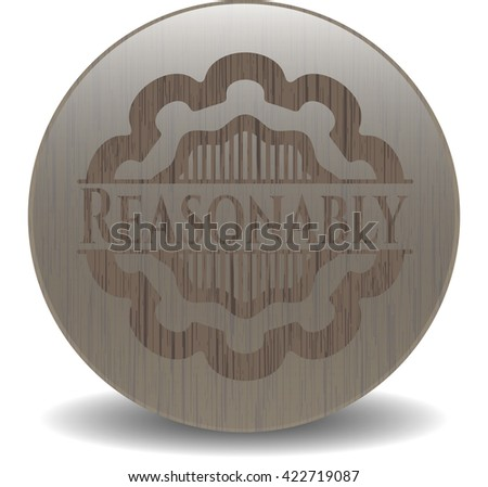Reasonably wood emblem. Retro