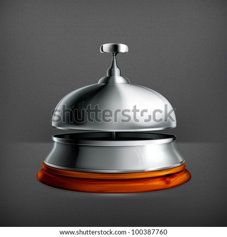 Reception Bell, vector