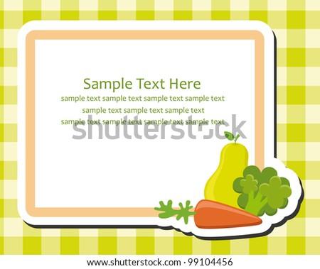 Cooking Recipe Cards Vector - Download Free Vector Art, Stock ...