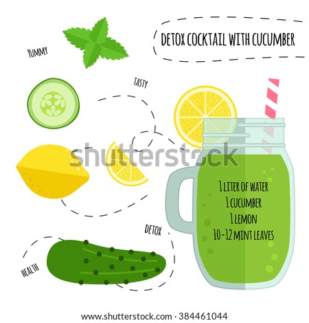 recipe detox cocktail with