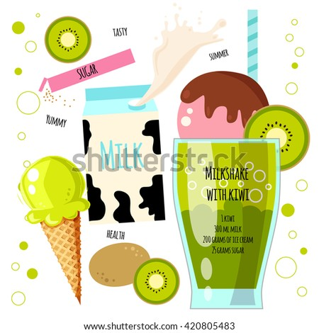 recipe of milkshake  smoothie