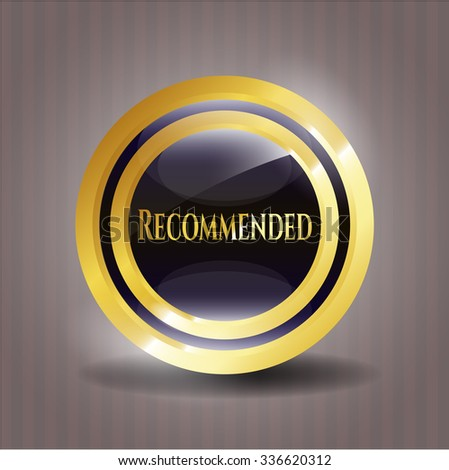 Recommended gold badge