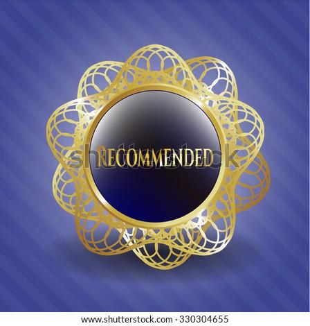 Recommended gold emblem
