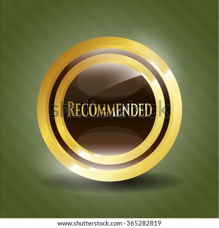 Recommended golden emblem