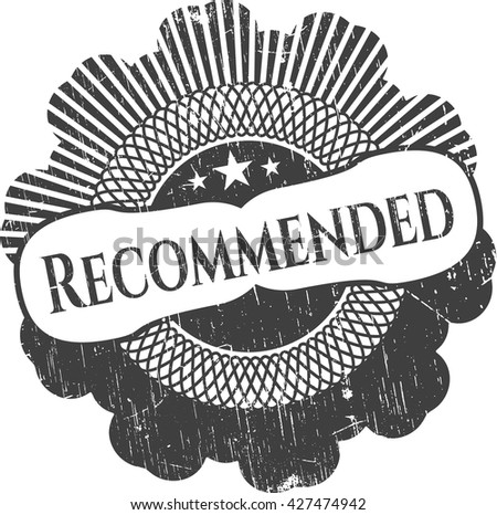 Recommended grunge style stamp