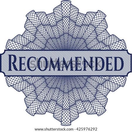 Recommended rosette