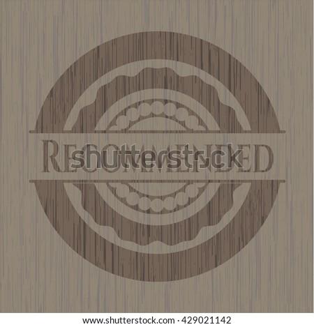 Recommended vintage wood emblem