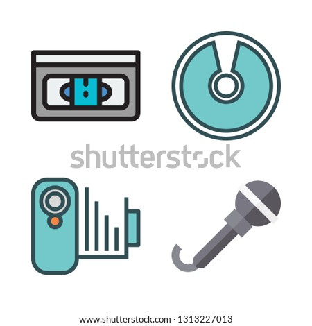 record icons set. vector set about [ iconsRandom] icons set.