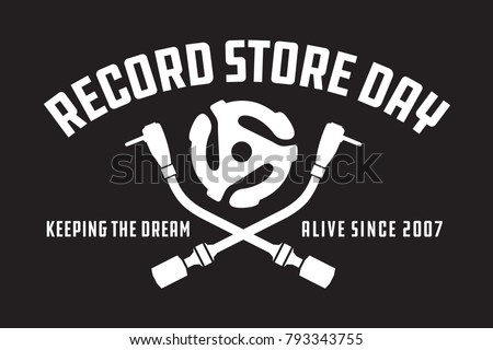 record store day badge or