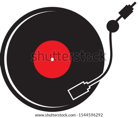 record turntable record player