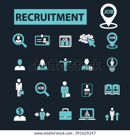 recruitment icons  #391629247