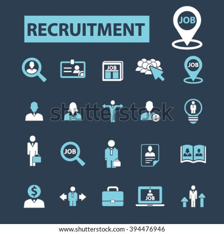 recruitment icons  #394476946