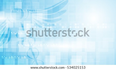 rectangle pattern medical health care concept background