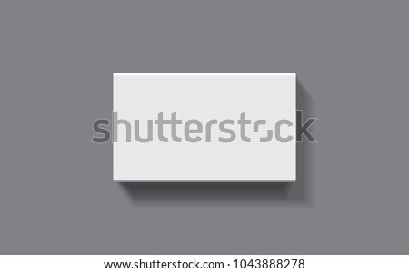 rectangular box on a dark background top view