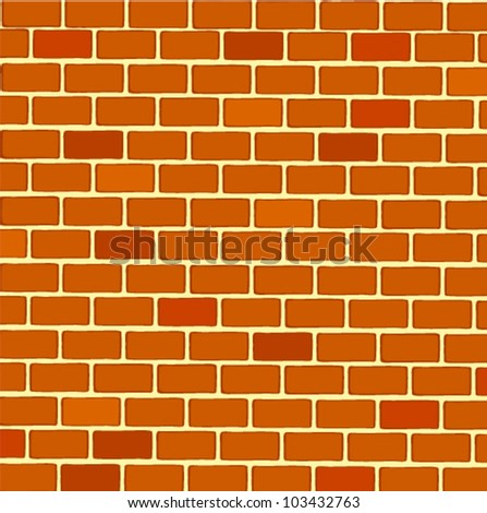 Rectangular Brick Wall