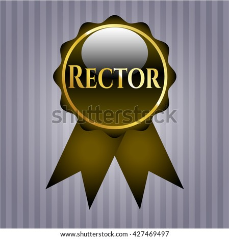 Rector shiny badge