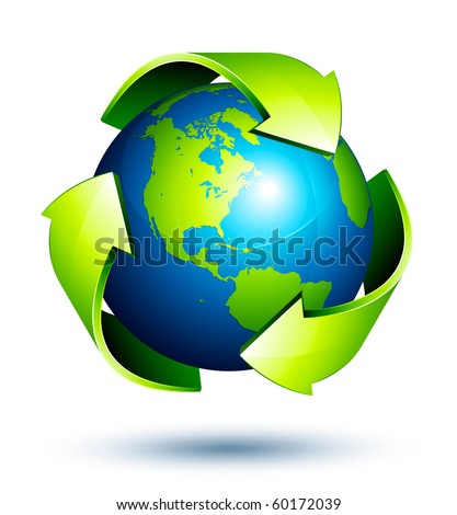 recycle arrows earth