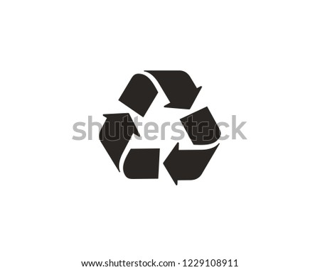 Recycle icon sign symbol