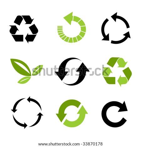 Free Recycle Icon Vectors