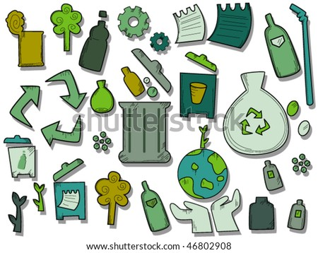 Recycle Icons - Vector
