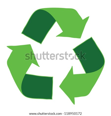 Recycle Logo , eps10, vector