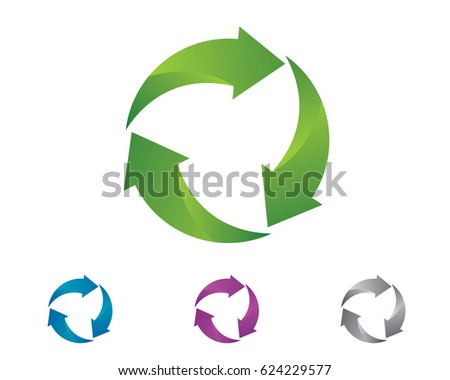 Recycle logo nature