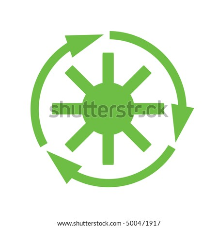 recycle rotor vector