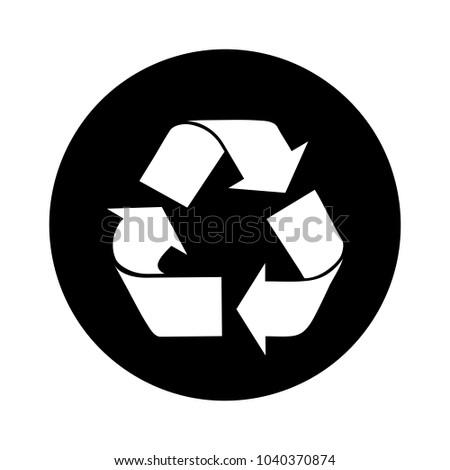 recycle vector symbol