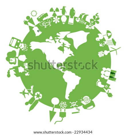 Recycling & Environment icons - Part 10 (vector)