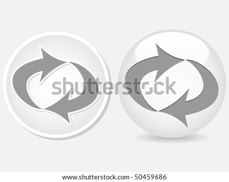 recycling white button