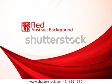 Red Abstract Background - Shutterstock ID 146994380