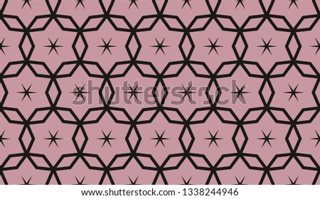 Red . abstract seamless geometries pattern. for wallpaper. design page fill. Vector illustration. #1338244946