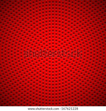 red abstract technology