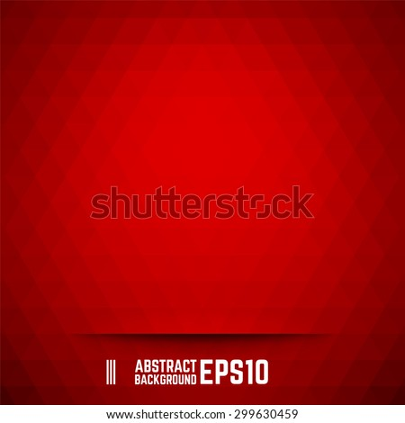 red abstract triangle