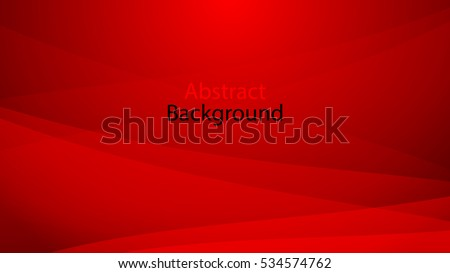 Red and black color background abstract art vector - Shutterstock ID 534574762