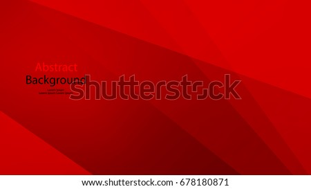 Red and black color background abstract vector art  - Shutterstock ID 678180871