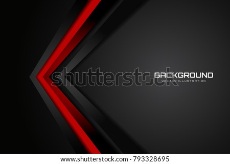 stock-vector-red-and-black-contrast-tech-arrows-background-vector-illustration-corporate-design