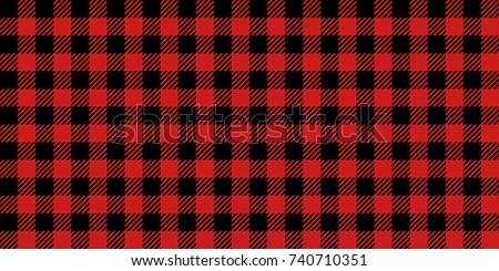 red and black lumberjack