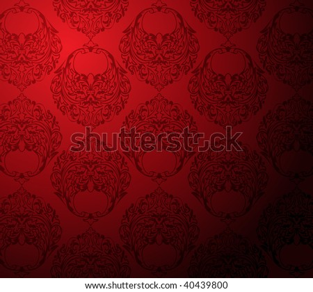 red and black wallpaper. stock vector : red and lack