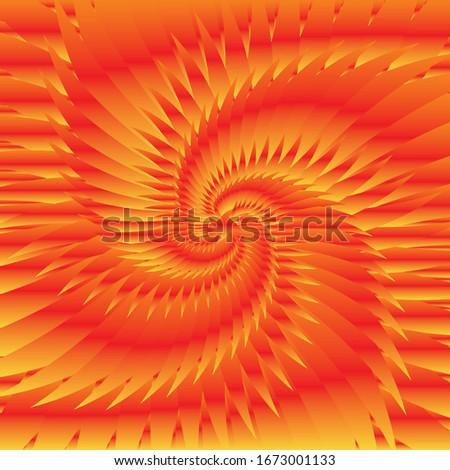 red and orange pattern fashion