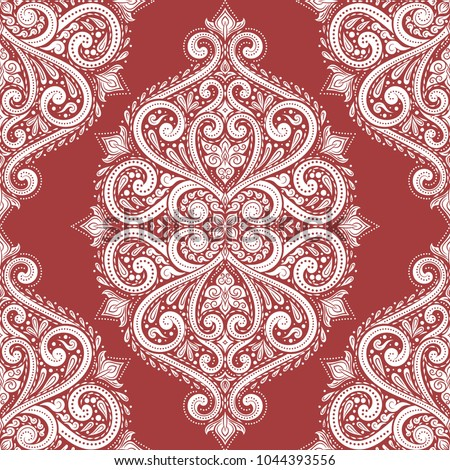 red and white ornamental