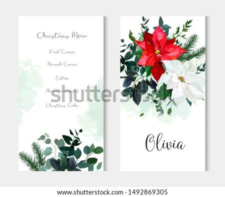 Christmas Greenery Vector.Christmas Greenery Free Vector Art 7 Free Downloads