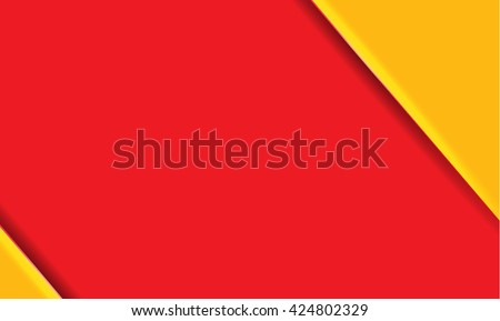 red and yellow modern material