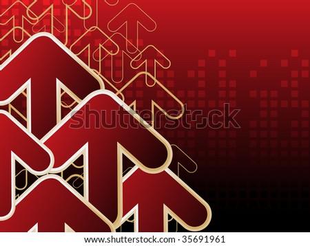 Red Arrowhead Logo Red Arrowhead Backgrou...