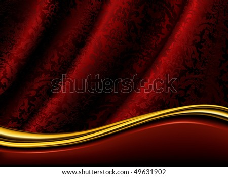 Red Background, vector