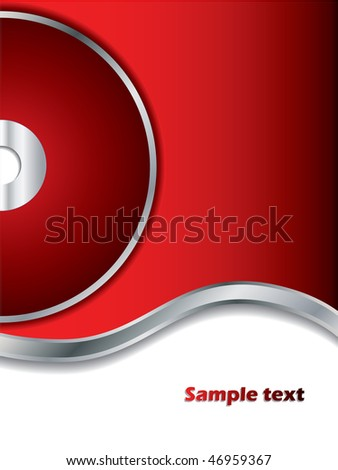 Red Background with disc