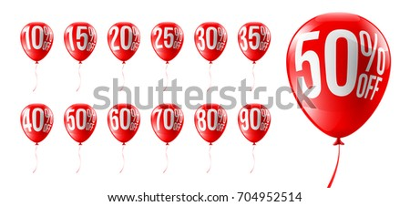 red balloons discounts for